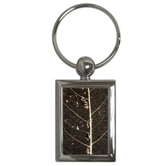 Vein Skeleton Of Leaf Key Chains (rectangle)  by BangZart