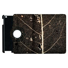 Vein Skeleton Of Leaf Apple Ipad 3/4 Flip 360 Case by BangZart
