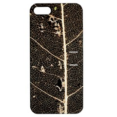 Vein Skeleton Of Leaf Apple Iphone 5 Hardshell Case With Stand by BangZart