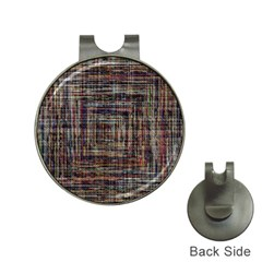 Unique Pattern Hat Clips With Golf Markers