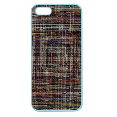 Unique Pattern Apple Seamless Iphone 5 Case (color) by BangZart