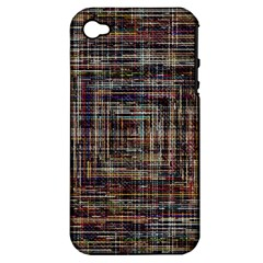 Unique Pattern Apple Iphone 4/4s Hardshell Case (pc+silicone)