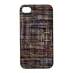 Unique Pattern Apple Iphone 4/4s Hardshell Case With Stand