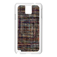 Unique Pattern Samsung Galaxy Note 3 N9005 Case (white)