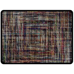 Unique Pattern Double Sided Fleece Blanket (large)  by BangZart
