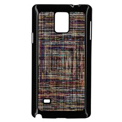 Unique Pattern Samsung Galaxy Note 4 Case (black) by BangZart