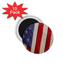 Usa Flag 1 75  Magnets (10 Pack)  by BangZart
