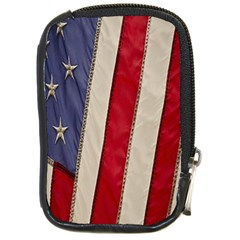 Usa Flag Compact Camera Cases by BangZart