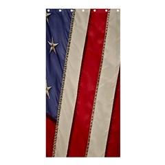Usa Flag Shower Curtain 36  X 72  (stall)