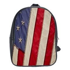 Usa Flag School Bags (xl)