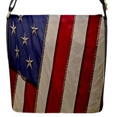 Usa Flag Flap Messenger Bag (s) by BangZart