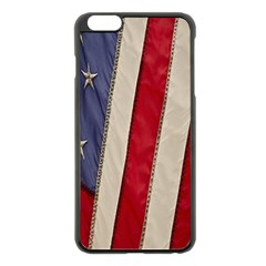 Usa Flag Apple Iphone 6 Plus/6s Plus Black Enamel Case by BangZart