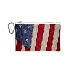 Usa Flag Canvas Cosmetic Bag (s) by BangZart