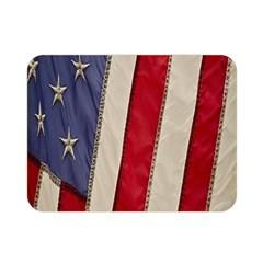 Usa Flag Double Sided Flano Blanket (mini)