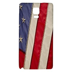 Usa Flag Galaxy Note 4 Back Case by BangZart