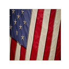 Usa Flag Small Satin Scarf (square) by BangZart