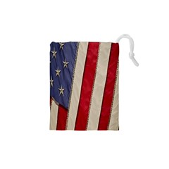 Usa Flag Drawstring Pouches (xs)  by BangZart