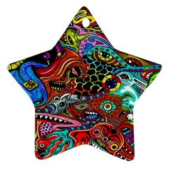 Vector Art Pattern Ornament (star)