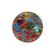 Vector Art Pattern Hat Clip Ball Marker (10 Pack) by BangZart