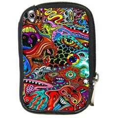 Vector Art Pattern Compact Camera Cases