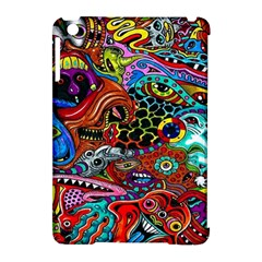 Vector Art Pattern Apple Ipad Mini Hardshell Case (compatible With Smart Cover) by BangZart