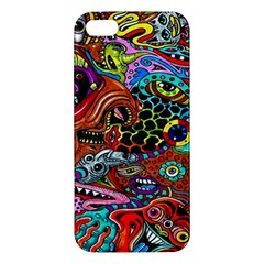 Vector Art Pattern Apple Iphone 5 Premium Hardshell Case