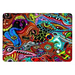 Vector Art Pattern Samsung Galaxy Tab 8 9  P7300 Flip Case by BangZart