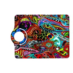 Vector Art Pattern Kindle Fire Hd (2013) Flip 360 Case by BangZart