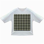 HOUNDSTOOTH2 BLACK MARBLE & BEIGE LINEN Infant/Toddler T-Shirts