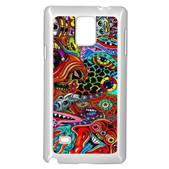 Vector Art Pattern Samsung Galaxy Note 4 Case (white) by BangZart