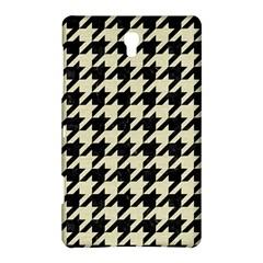 Houndstooth2 Black Marble & Beige Linen Samsung Galaxy Tab S (8 4 ) Hardshell Case  by trendistuff