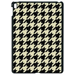 Houndstooth2 Black Marble & Beige Linen Apple Ipad Pro 9 7   Black Seamless Case by trendistuff
