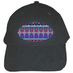 Tribal Seamless Aztec Pattern Black Cap by BangZart