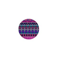 Tribal Seamless Aztec Pattern 1  Mini Buttons by BangZart