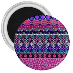 Tribal Seamless Aztec Pattern 3  Magnets