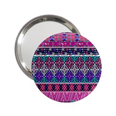 Tribal Seamless Aztec Pattern 2 25  Handbag Mirrors by BangZart