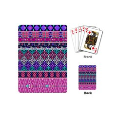 Tribal Seamless Aztec Pattern Playing Cards (mini)