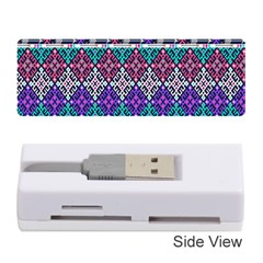 Tribal Seamless Aztec Pattern Memory Card Reader (stick)