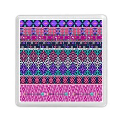 Tribal Seamless Aztec Pattern Memory Card Reader (square)  by BangZart
