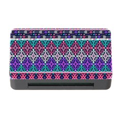 Tribal Seamless Aztec Pattern Memory Card Reader With Cf