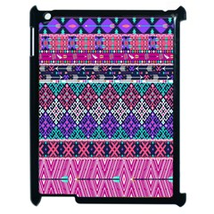 Tribal Seamless Aztec Pattern Apple Ipad 2 Case (black) by BangZart