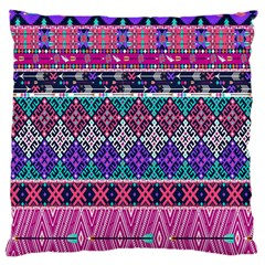 Tribal Seamless Aztec Pattern Large Cushion Case (two Sides) by BangZart