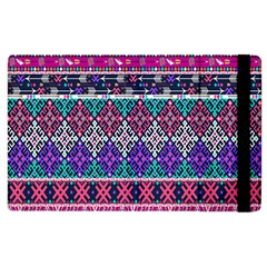 Tribal Seamless Aztec Pattern Apple Ipad 3/4 Flip Case by BangZart