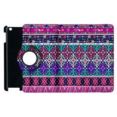 Tribal Seamless Aztec Pattern Apple Ipad 2 Flip 360 Case by BangZart