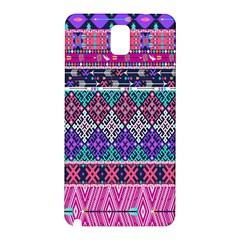 Tribal Seamless Aztec Pattern Samsung Galaxy Note 3 N9005 Hardshell Back Case