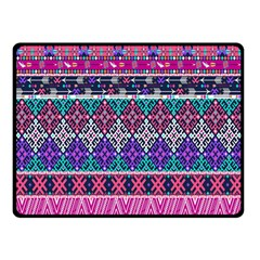 Tribal Seamless Aztec Pattern Double Sided Fleece Blanket (small)  by BangZart