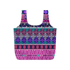 Tribal Seamless Aztec Pattern Full Print Recycle Bags (s)  by BangZart