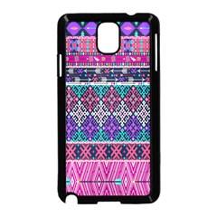 Tribal Seamless Aztec Pattern Samsung Galaxy Note 3 Neo Hardshell Case (black)
