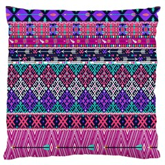 Tribal Seamless Aztec Pattern Standard Flano Cushion Case (two Sides)