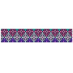 Tribal Seamless Aztec Pattern Flano Scarf (large) by BangZart